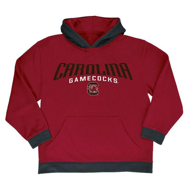 NCAA Boys' All Star Pullover Poly Hoodie Hooded Sweatshirt South Carolina Gamecocks - XL, Multicolored
