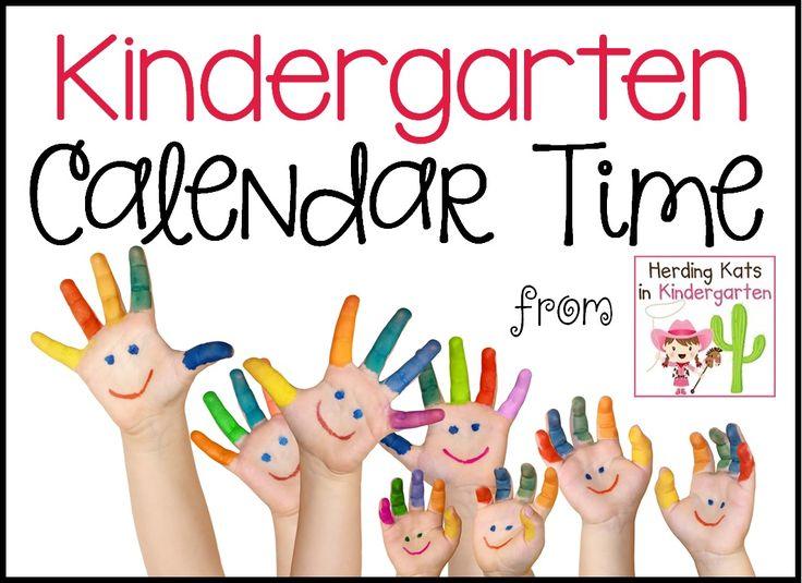 Herding Kats in Kindergarten: Top Ten Fun Calendar Time Videos