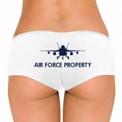 Custom Air Force Girlfriend Shirts, Undies, Tank Tops, & More