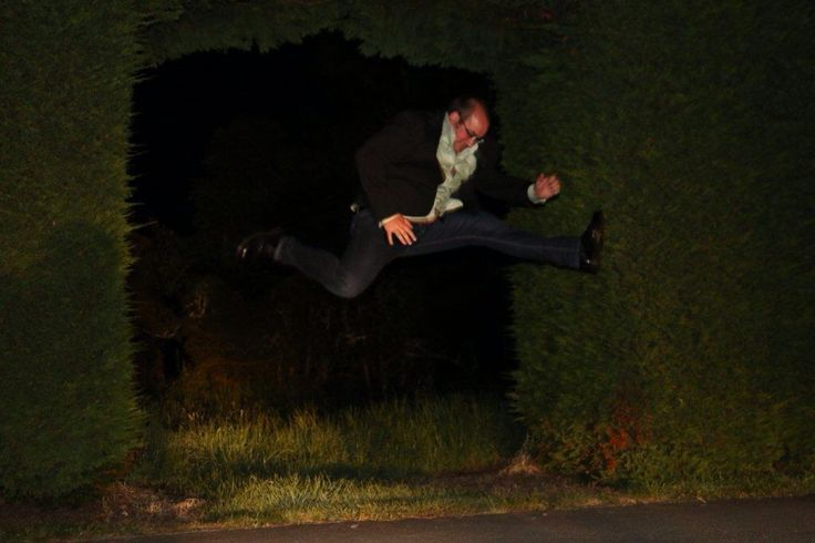 Ruth Pretty Hole in the Hedge Jump in the headlights