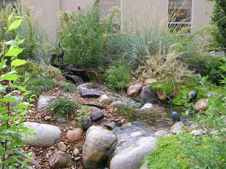82 best images about pondless waterfall on pinterest for Urban waterfall design