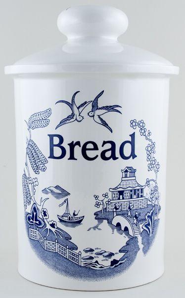 Wain Willow Bread Crock c1990s  sc 1 st  Pinterest & 167 best BREAD BOX (VINTAGE) images on Pinterest   Bread boxes ... Aboutintivar.Com