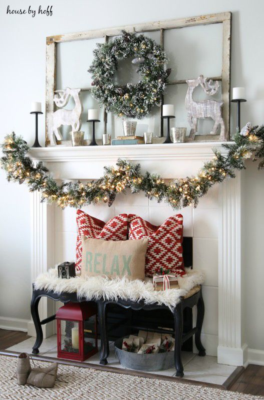 Mantel goals right here. @aprilhoff #HDCHolidayHomes