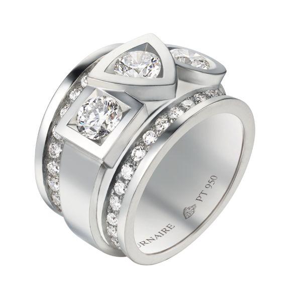 Bague Alchimie #tournaire #jewels #Architecture #jewelry #luxe #Alchimie #diamant #diamond