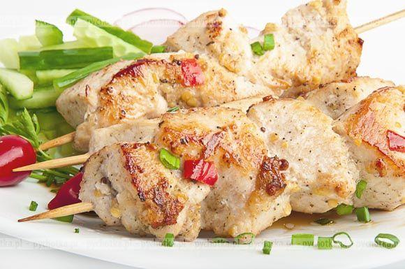 Szaszłyki z kurczaka w marynacie