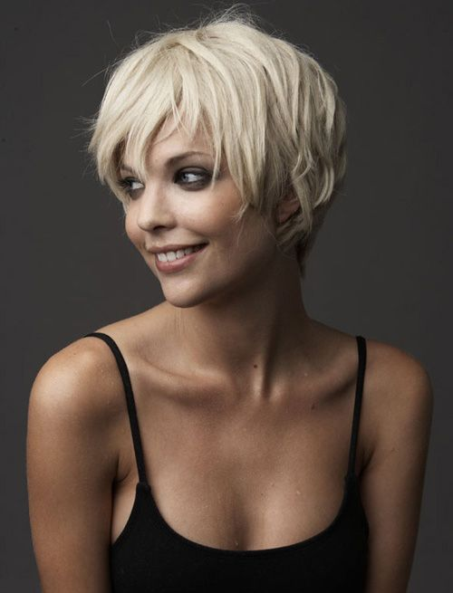 #ShortHaircuts Short Haircuts 2013 Women Choose for Amazing Look | World's Best Hairstyles <3 If you're interested in more like this visit ? http://myblogpinterest.blogspot.com/ <3