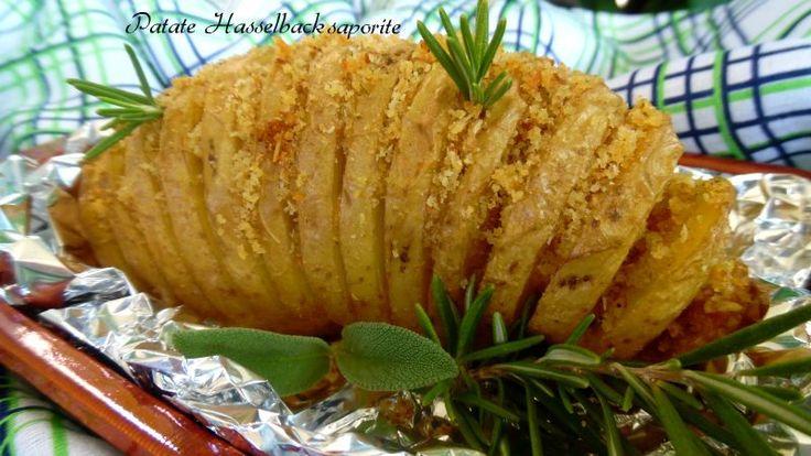 Patate Hasselback saporite - Ricette Blogger Riunite