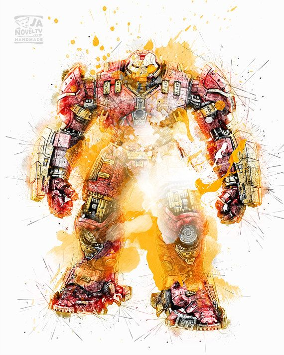 HULKBUSTER, Hulkbuster by JAnoveltyDeSign