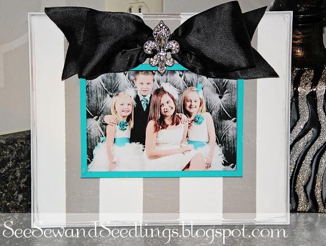 diy boutique frame: Diy Frame, Tutorials, Gift Ideas, Diy Craft, Pictures, Picture Frames