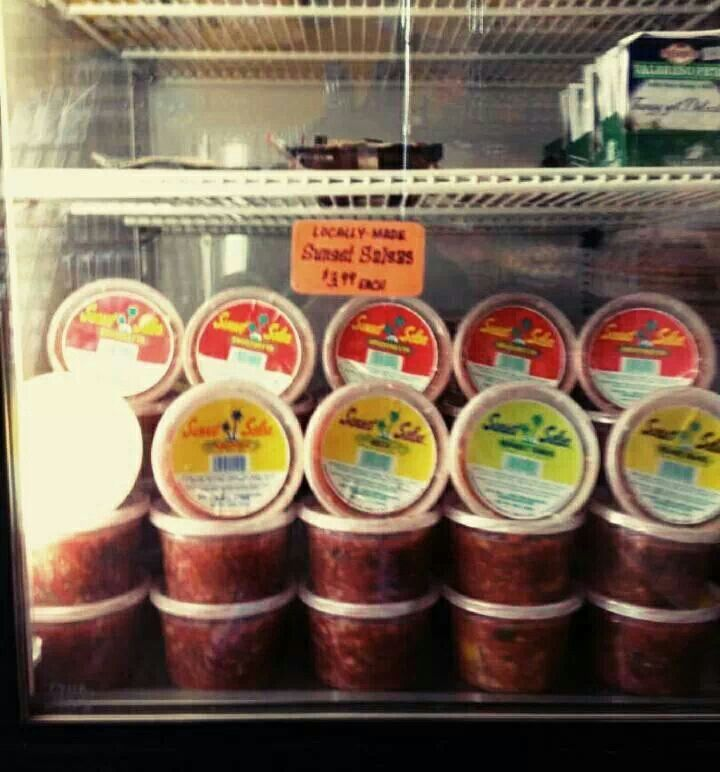 Fresh delivery of Sunset Salsa to Duckweed Urban Market