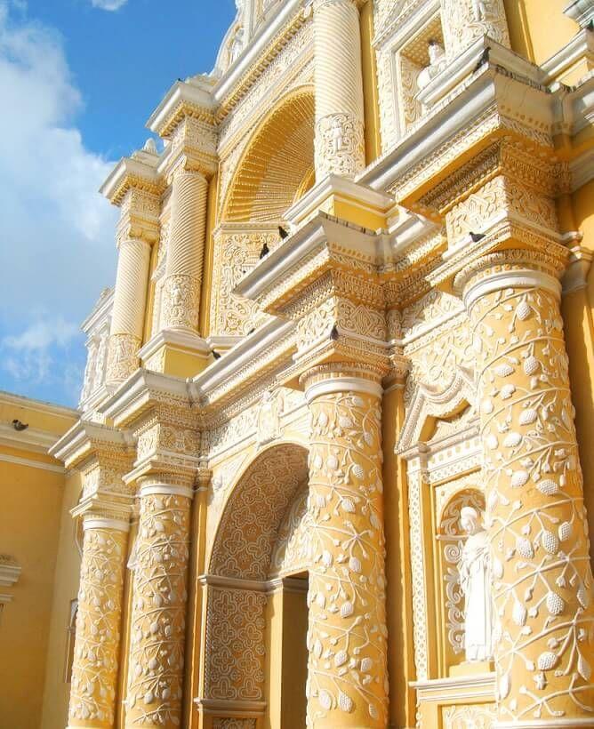 Iglesia de Nuestra Señora de La Merced, Antigua Guatemala. Check out more amazing destinations at http://glamshelf.com