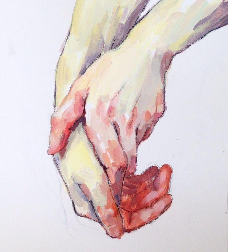 Acrylic hands by ellysmallwood