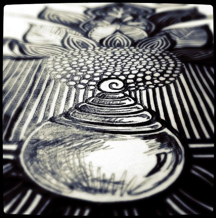 Kelly Strong's Black Biro Design ©