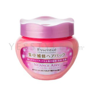 Buy 'Kao – Essential Damage-Care Nuance Airy Hair Mask' with Free International Shipping at YesStyle.com. Browse and shop for thousands of Asian fashion items from Japan and more!