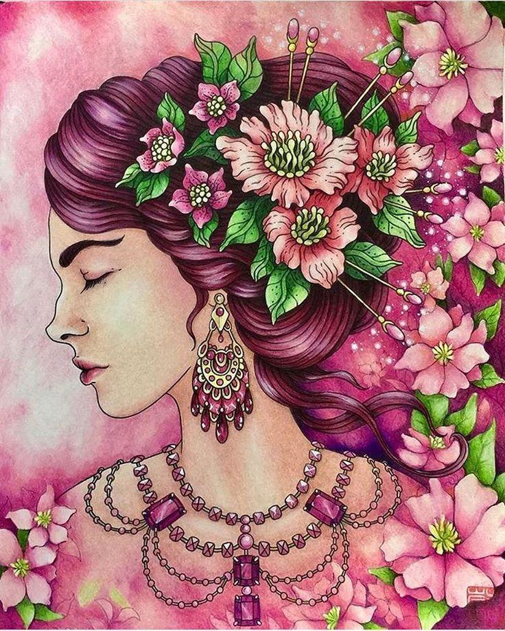 Gorgeous! By @cherrycolours
