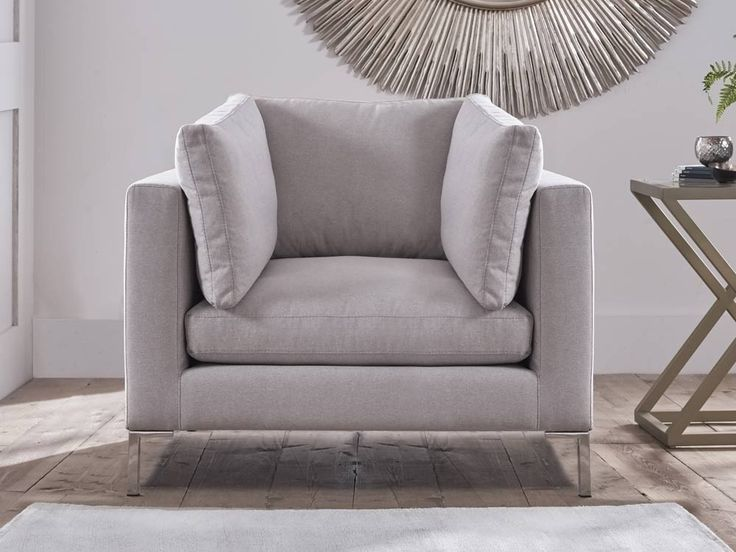 This Luxury Upholstered Armchair Will Be The Centrepiece Of Any Living Room A Hallmark Design Claudio Provides Fresh Look And All Round Comfort