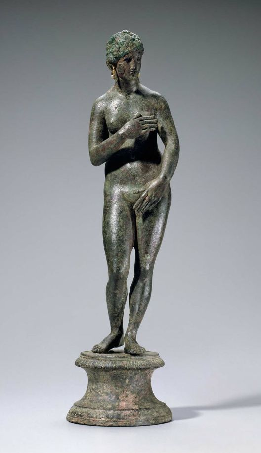 Figurine of Capitoline Aphrodite Greek or Roman, Late Hellenistic or Roman Imperial, 1st century B.C. or 1st–2nd A.D. | MFA