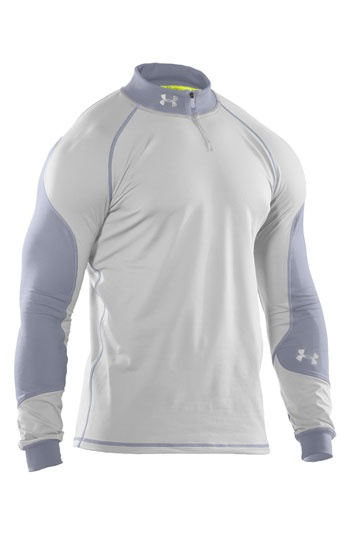 Under Armour 'ColdGear® - Catalyst' Fitted Quarter-Zip Top