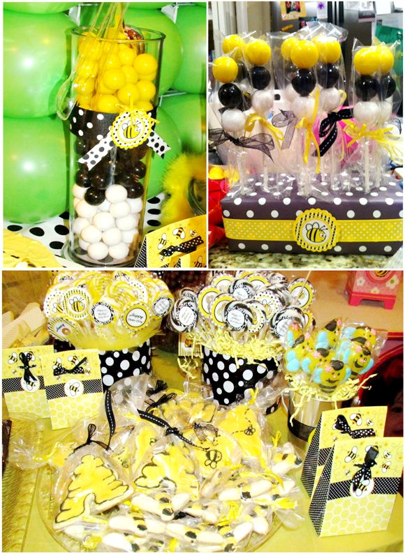 More Bee Party Ideas