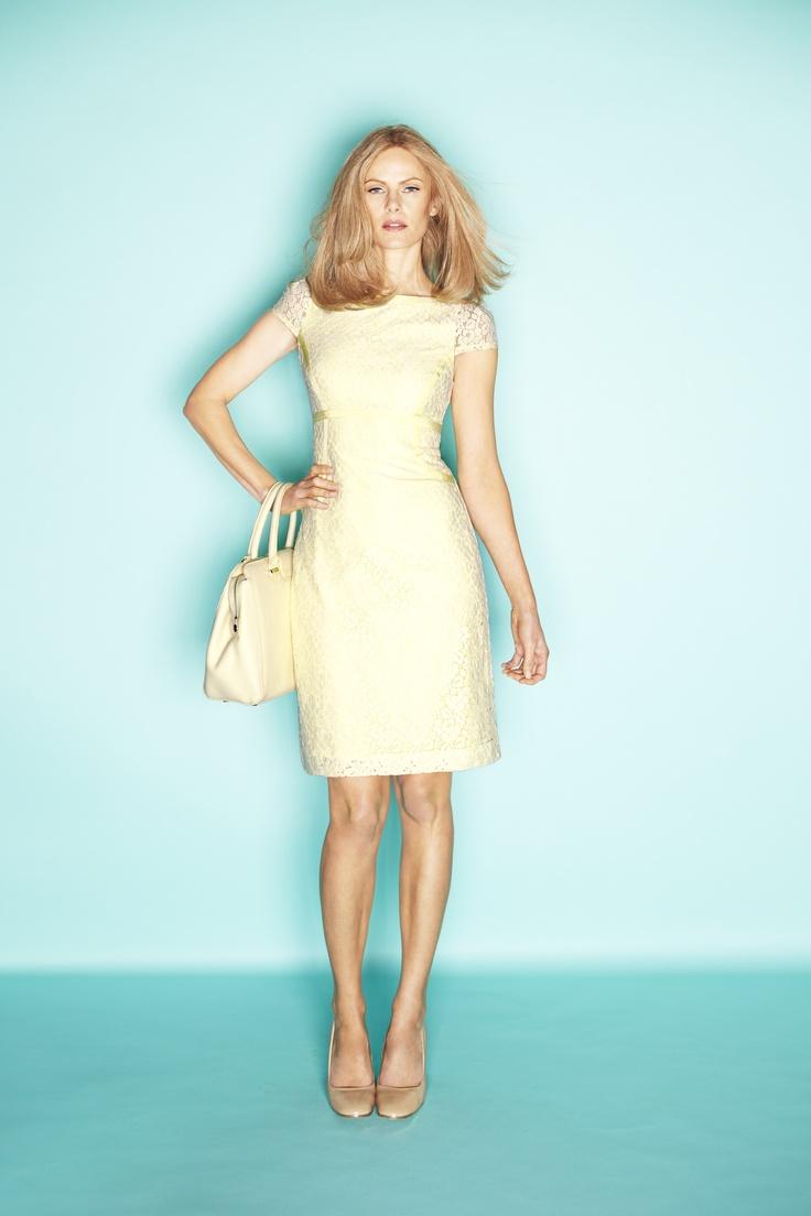 Silk Twill A line Dress, $249, David Lawrence  Shop 12, Ground Floor, QVB
