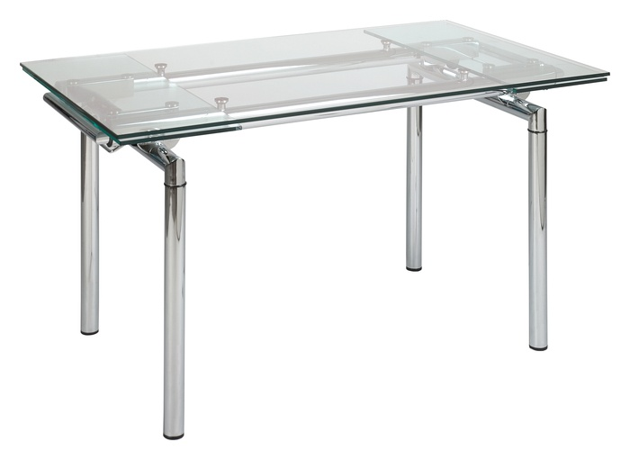 23 Best Extendable Glass Dining Table Images On Pinterest  Dining Interesting Dining Room Tables Expandable Decorating Design
