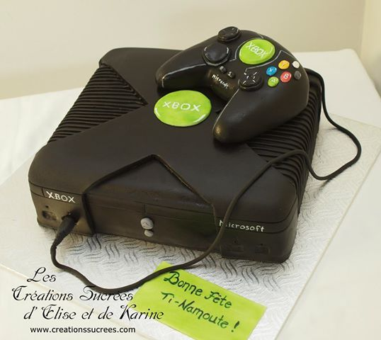 Xbox One Cake Designs : Xbox cake by www.creationssucrees.com Xbox Cakes ...