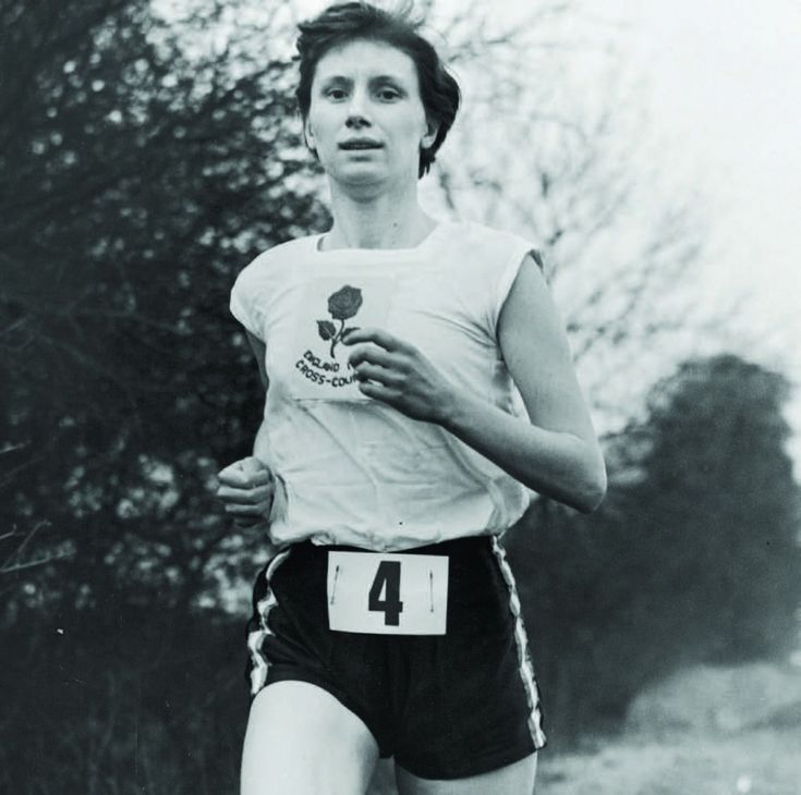 Diane Leather just might be the greatest athlete you've  never heard of. Running Legends: 1st sub 5 minute miler woman