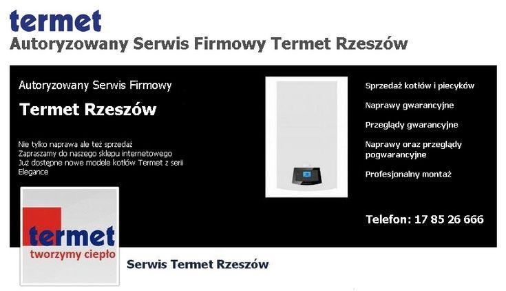 Autoryzowany Serwis Firmowy Termet