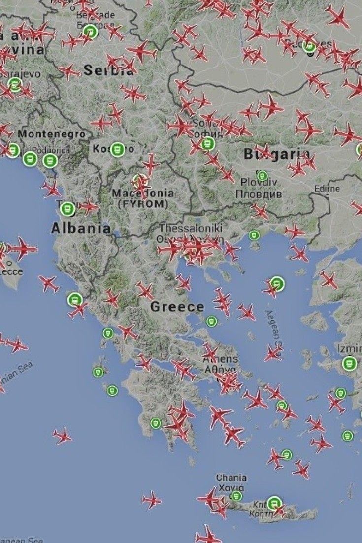 Δείτε που βρίσκεται κάθε αεροπλάνο και πλοίο στον κόσμο ανά πάσα στιγμή