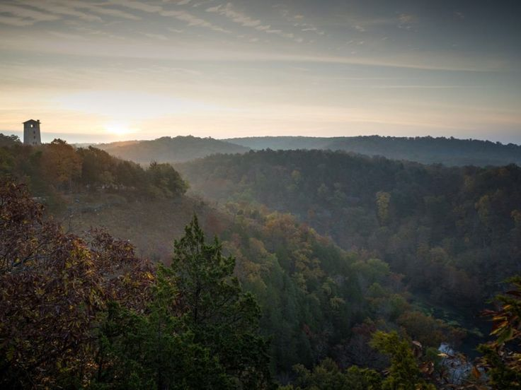 10 best hiking trails in missouri Missouri hiking: Lost Valley Trail in Chesterfield 30min from Haz Louis and Clark trail St Charles 10min from Haz Meramec State Park, Sullivan. 1hr15min from Haz Ha Ha Tonk 2hr15Min near LakeoftheOzarks Buford Mountain. Highest point in MO 1hr15min from Haz
