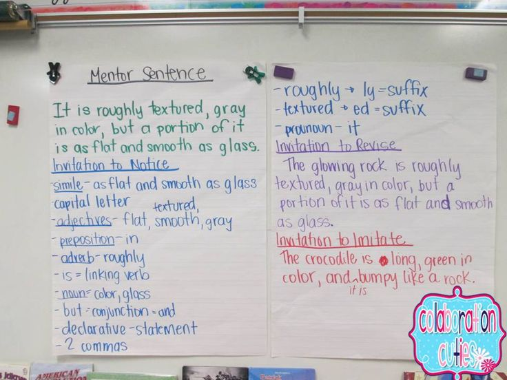 158 best mentor sentences images on pinterest teaching grammar idea for using mentor sentences choosing one sentence a week from a mentor text and each day doing a different activity with the sentence stopboris Gallery