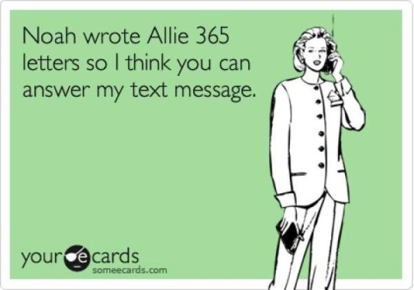 baha...its true though ;) to people that think a simple response is too much to ask
