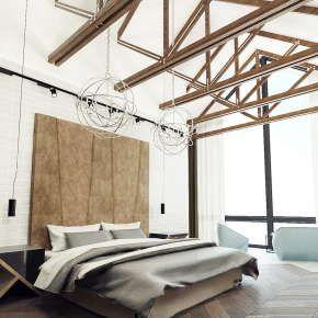 Частный дом Dwell House – это замечательный двухэтажный коттедж для целой семьи. В доме Dwell House реализованы все пожелания клиента. Гармоничная спальня и детская комната. Удобная кухня и уютная гостиная.