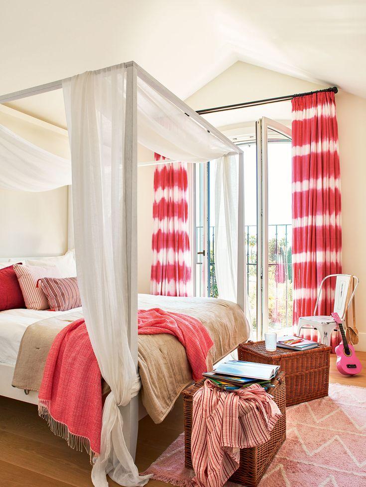 con dosel cama diseada por la albaida cortinas de la albaida con tela de designers