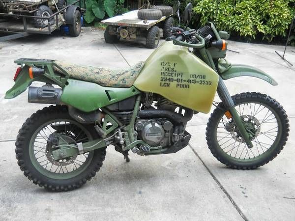 Kawasaki KLR650 M1030B1 - Right Side
