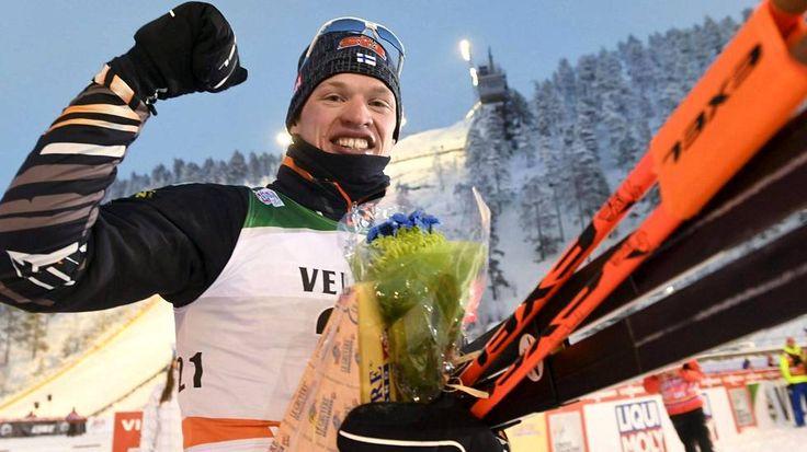 Iivo Niskanen hiihti upeasti sprintin finaaliin
