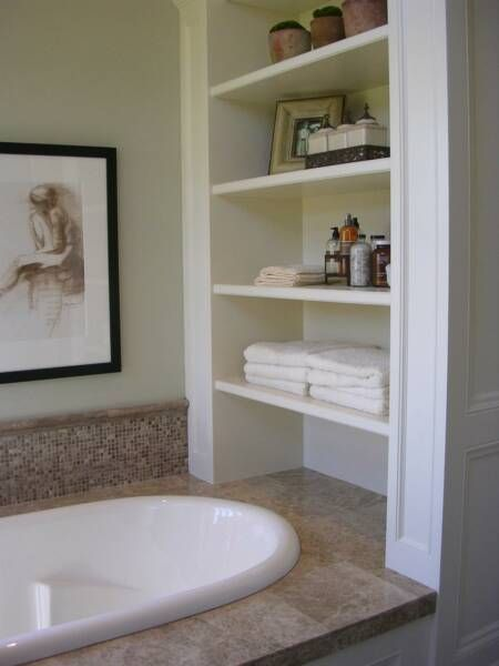21 best Bathroom Shelves Ideas images on Pinterest | Bathrooms decor ...