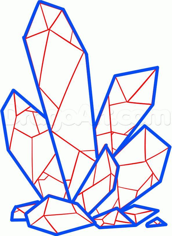 картинки кристаллов поэтапно всех любителей