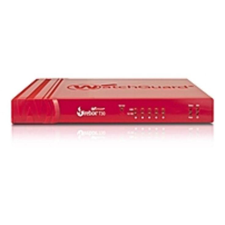NOB WatchGuard Firebox T30 with 3-yr Basic Security Suite (US) - 5 Port - 10-100-1000Base-T Gigabit Ethernet - DES, 3DES, AES (128-bit), AES (192-bit), AES (256-bit), SHA-1, SHA-2, MD5 - USB - 5 x