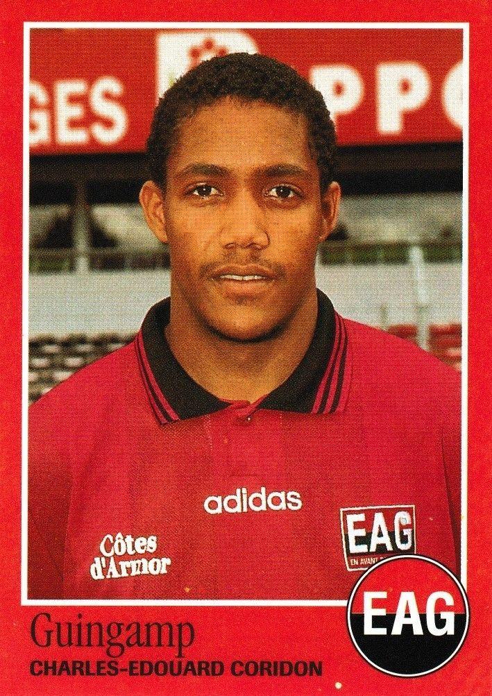N°84 - Stickers Image Panini Foot 1997 - Charles Edouard Coridon - Guingamp