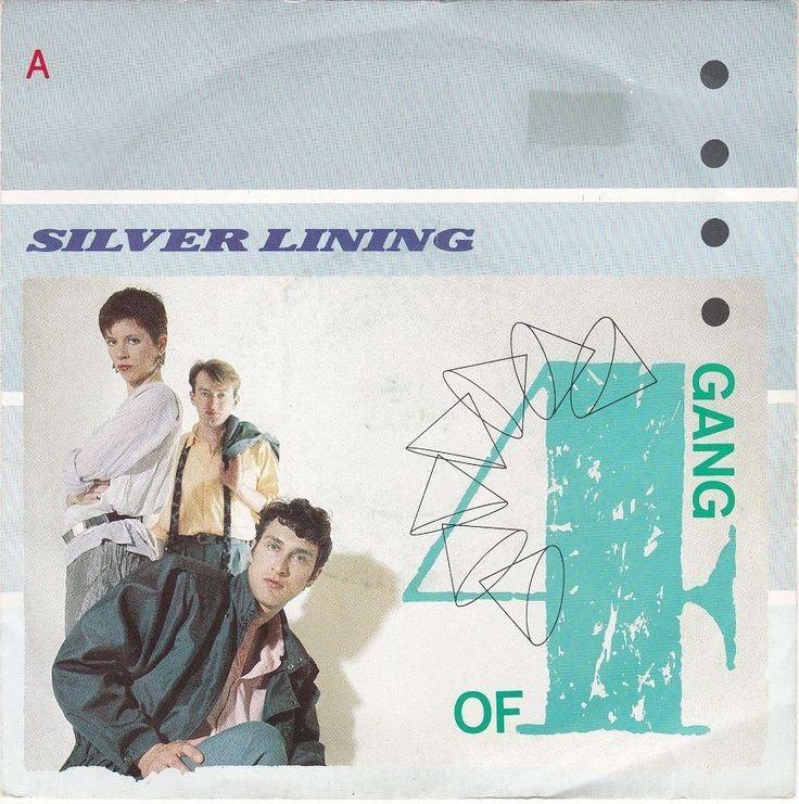 "Gang of Four - Silver Lining, 7"" vinyl, very rare mispressing, plays Rod Stewart #vinyl"