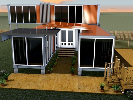 Houses Out Of Storage Containers 1123 best cargo container house images on pinterest | shipping