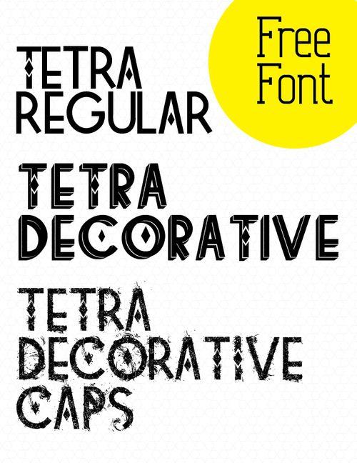 Tetra regular/decorative/decorative caps