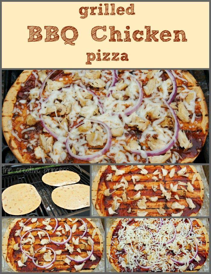 ... | Pinterest | Grilled Bbq Chicken, Chicken Pizza and Bbq Chicken