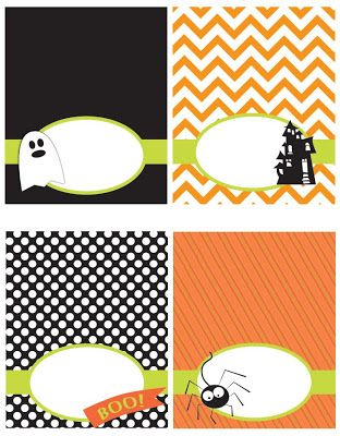 FREE printable Halloween tags and more / I Dig Pinterest: