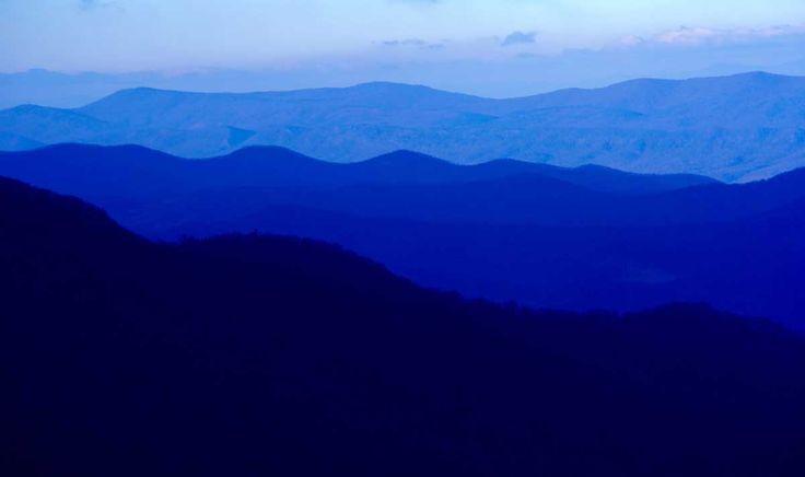 Montañas Blue Ridge, Virginia, EEUU