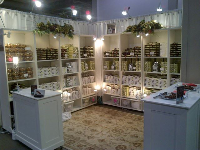 Our Booth at The One of A Kind Christmas Show.