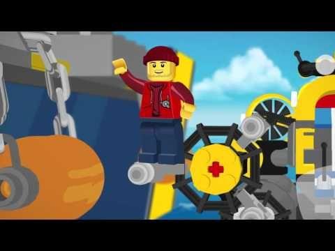 LEGO® City - Deep Sea Photo Fishing (2D) Mini Movie