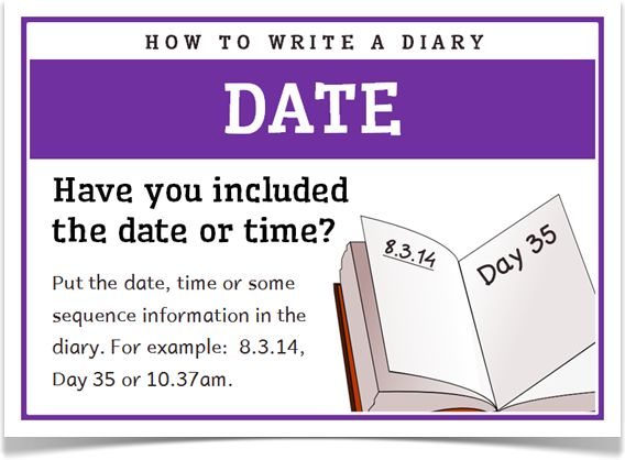 how to write a reading journal ks2