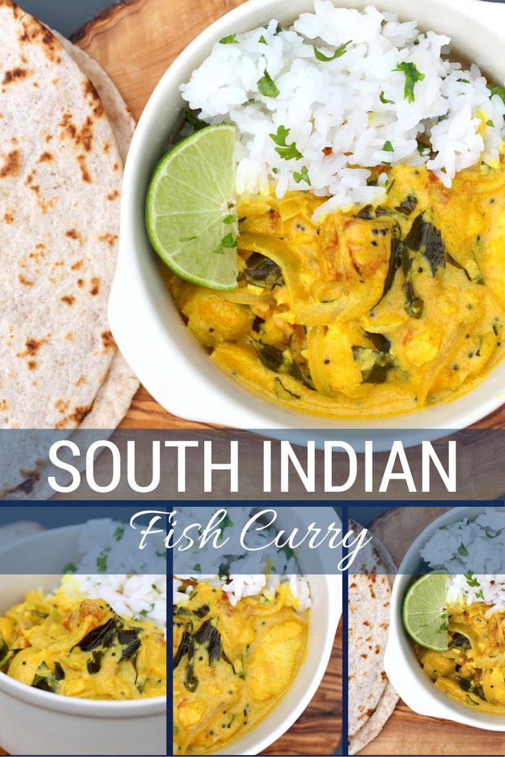 South Indian Fish Curry. Ready in 15 minutes